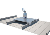 2100138 Roof Top Anchor for Standing Seams