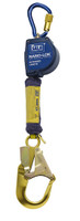 DBI-SALA 9  ft. Nano-Lok Extended Length Self Retracting Lifeline with Anchor Hook - Web - 3101596