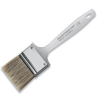 Chip Brush White Bristle 4""