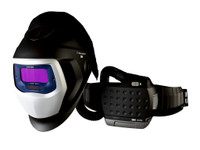 3M Adflo PAPR with 3M Speedglas Welding Helmet 9100-Air, 35-1101-10SW, HE filter, Li Ion Battery, ADF 9100V 1 EA/Case