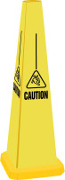 "Quad-Warning Safety Cones 25"" h - PFC260"