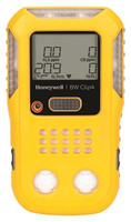 BW Clip4 Multi-Gas Detector Yellow Housing [O2, LEL, H2S, CO] BWC4-B-N