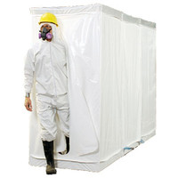 "D-Con 3 - 77"" Fire Retardant Disposable Decontamination Shower & Airlock Enclosure"