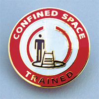 "Confined Space Trained 1 1/4"" - SBR108"