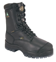 "Oliver 45 Series 8"" Safety Toe Black Work Boot"