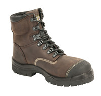 "Oliver 55 Series 6"" Safety Toe Brown Work Boot"