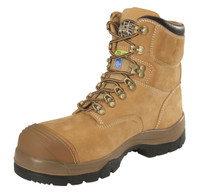 "Oliver 55 Series 6"" Safety Toe Tan Work Boot"