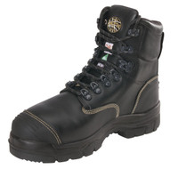 "Oliver 55 Series 6"" Safety Toe Black Work Boot"