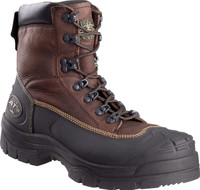 "Oliver 65 Series 6"" Oil & Gas Safety Toe Brown Work Boot"