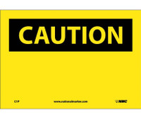 Caution (Header Only) 7X10. Ps Vinyl