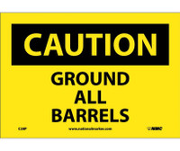 Caution Ground All Barrels 7X10 Ps Vinyl