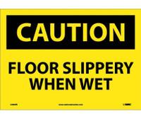 Caution Floor Slippery When Wet 10X14 Ps Vinyl