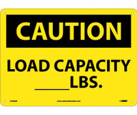 Caution Load Capacity__Lbs. 10X14 .040 Alum