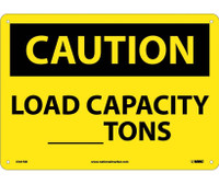 Caution Load Capacity__Tons 10X14 .040 Alum