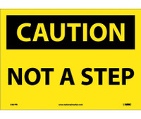 Caution Not A Step 10X14 Ps Vinyl