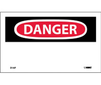 Danger (Header Only) 3X5 Ps Vinyl 5/Pk