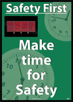 Digital Scoreboard Safety First Make Time For Safety