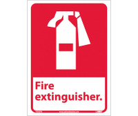 Fire Extinguisher (W/Graphic) 14X10 Ps Vinyl