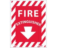 Fire Extinguisher 12X9 Ps Vinyl