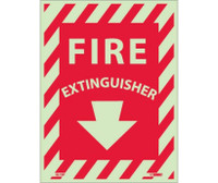Fire Extinguisher 12X9 Ps Glow