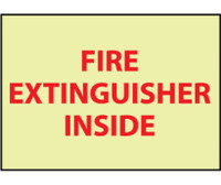 Fire Fire Extinguisher Inside 6X9 Ps Vinylglow