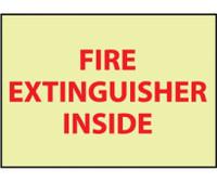 Fire Fire Extinguisher Inside 6X9 Ps Vinylglow