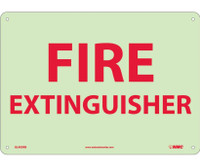 Fire Extinguisher 10X14 Ps Glow