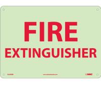 Fire Extinguisher 10X14 Glow Rigid