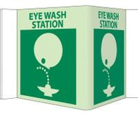 Visi Eye Wash Station 5.75X8.75 Acrylicglow