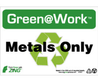 Metals Only 7X10 Recycle Plastic