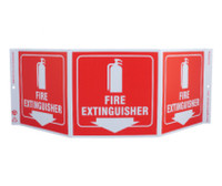 Tri-View Fire Extinguisher 7.5X20  Recycle Plastic