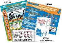 Kit -- 2 Posters (Pst122 Pst129) 20 Booklets (Rtk32) 20 Wallet Cards (Hmc6)