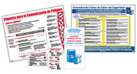 Kit -- 2 Posters (Pst128S Pst129S) 20 Booklets (Rtk32Sp) 20 Wallet Cards (Hmc6Sp) - Spanish