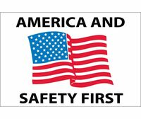 America And Safety First 2 X 3. Ps Vinyl