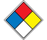 Hazardous Material System Labels 4X4 Ps Paper 250/Rl
