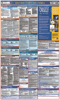 Labor Law Poster District Of Columbia (Spanish) 40X24 State And Federal