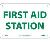 First Aid Station 7X10 Rigid Plastic