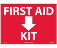 First Aid (Arrow) Kit 10X14 Ps Vinyl