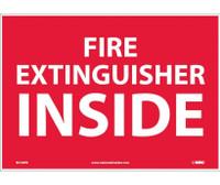 Fire Extinguisher Inside 10X14 Ps Vinyl