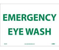 Emergency Eye Wash 10X14 Ps Vinyl