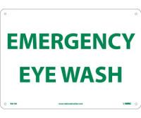 Emergency Eye Wash 10X14 Rigid Plastic