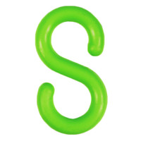 """S-Hooks Green 2"""" Packs Of 25"""