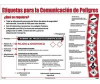 Poster Hazcom12 Label Format 24X18 Spanish