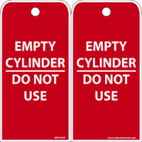 Ez Pull Tags Empty Cylinder 6X3 Tags On A Roll Box Of 100