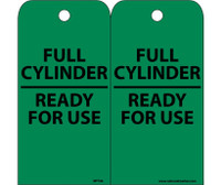 Tags Full Cylinder Ready For Use 6X3 Unrip Vinyl 25/Pk