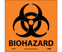 Biohazard (Graphic) 4X4 Ps Vinyl 5/Pk