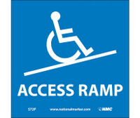Access Ramp (W/Graphic) 7X7 Ps Vinyl
