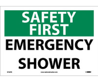 Safety First Emergency Shower 10X14 Ps Vinyl