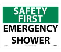 Safety First Emergency Shower 10X14 Ps Vinyl
