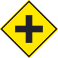 (Crossroad Graphic )Sign 30X30 .080 Hip Ref Alum